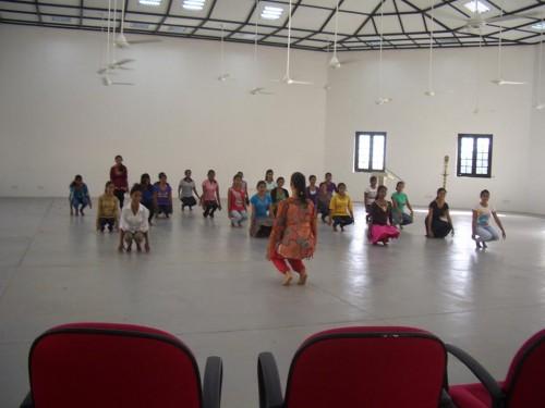 Atelier de Bharatemporain-Université de Matara - Sri-Lanka