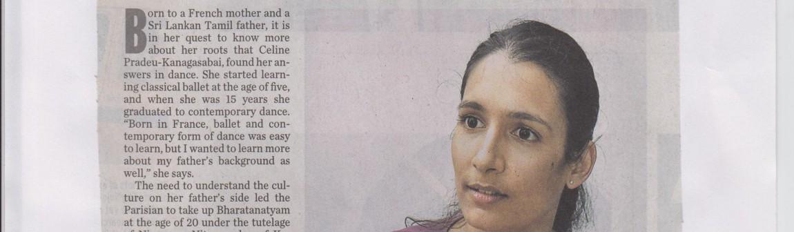 The Hindu-9 March 2012 - Hybride by Celine Pradeu