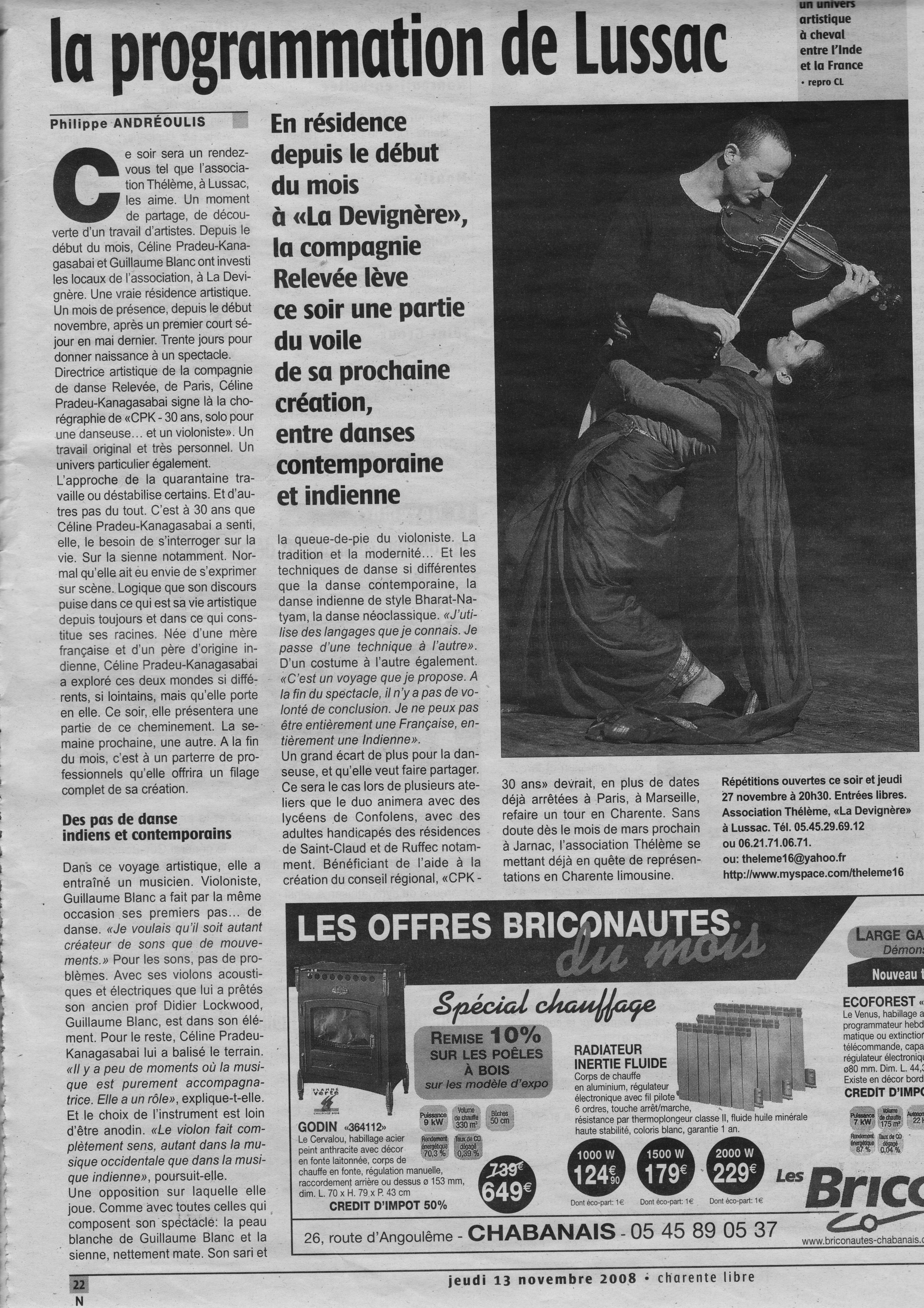 article CPK-30ans Charente Libre